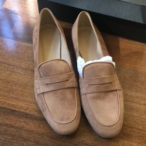 J.Crew Suede Loafers New